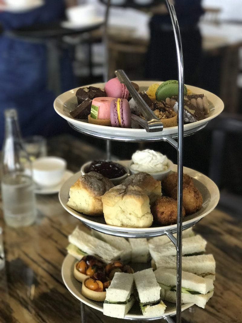 High Tea at Brightwater Hotel