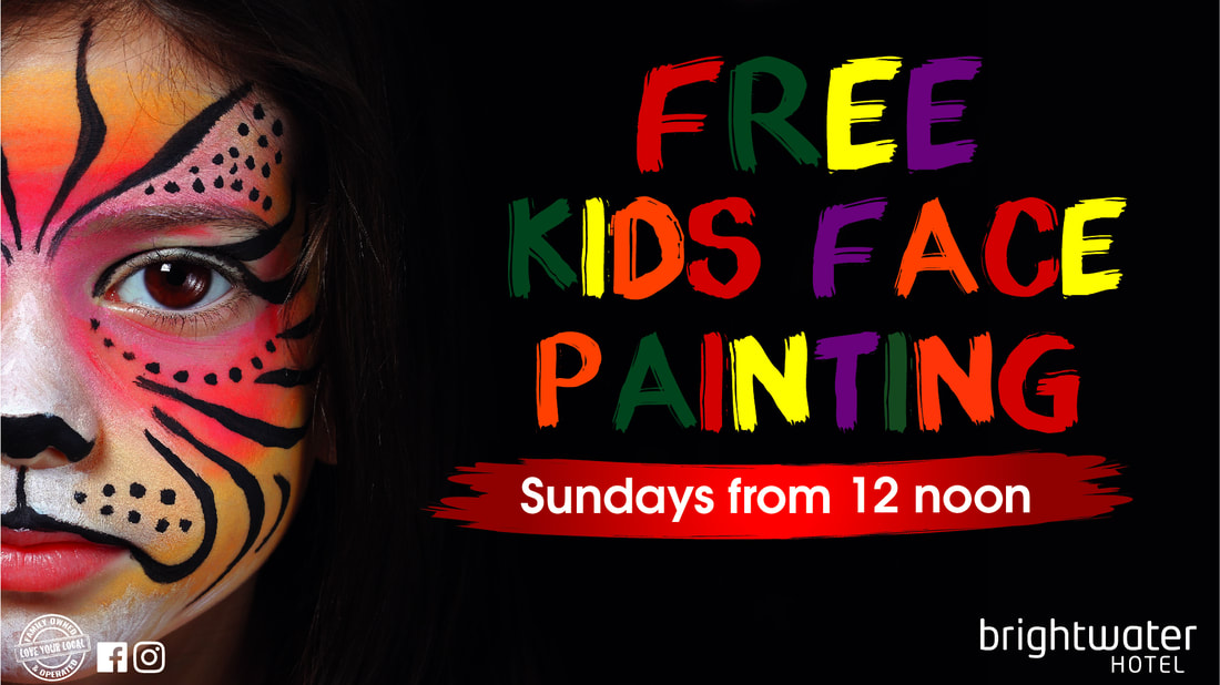Free Kids Face Painting Every Sunday from 12 noon